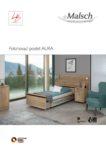 Katalog pečovatelských lůžek AURA )